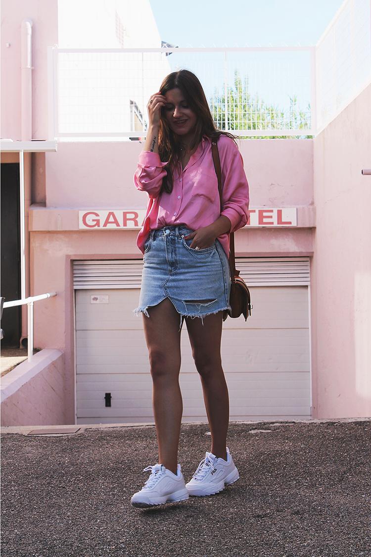 Zapatillas fila disruptor outfit