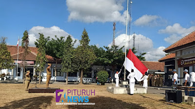"Gelorakan ""Bersatu Kita Maju"", Hari Sumpah Pemuda ke-91 Digelar di Halaman Kecamatan Pituruh"