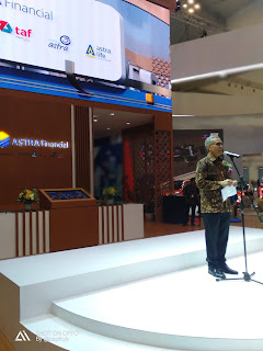 Peresmian  Booth Astra  Financial di GIIAS 2019