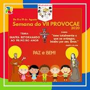 VII Semana Nacional Promoção Vocacional e Ação Evangelizadora da JUFRA do Brasil, material da INAFRA.