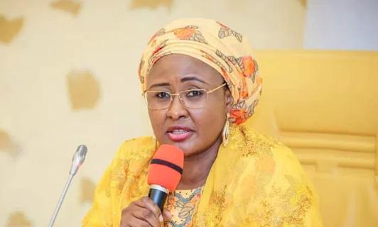 Aisha Buhari denies condemning the CJN's suspension