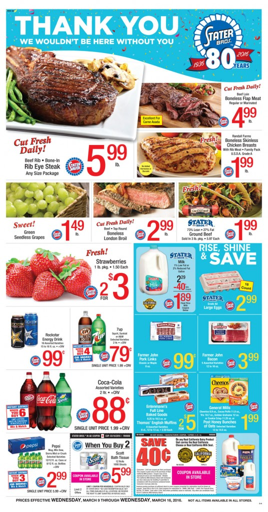 stater bros coupon deals this week
