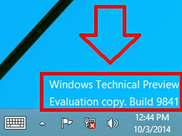 How To Remove Watermark In Windows Technical Preview - Imagez co