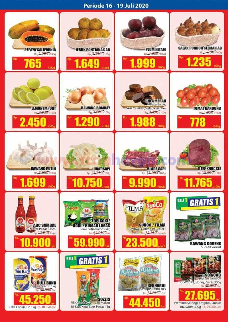 Katalog Promo KJSM Hari Hari Swalayan Weekend 16 - 19 Juli 2020 2