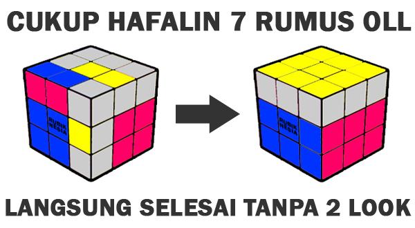 Langsung Dapat OLL Edge Oriented! Kumpulan Rumus VHLS Rubik's Cube 3x3x3 Termudah