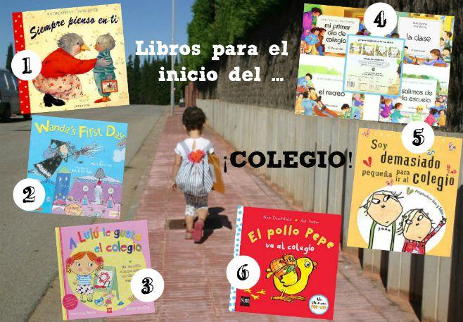 Recopilación libros infantiles inicio colegio o guardería