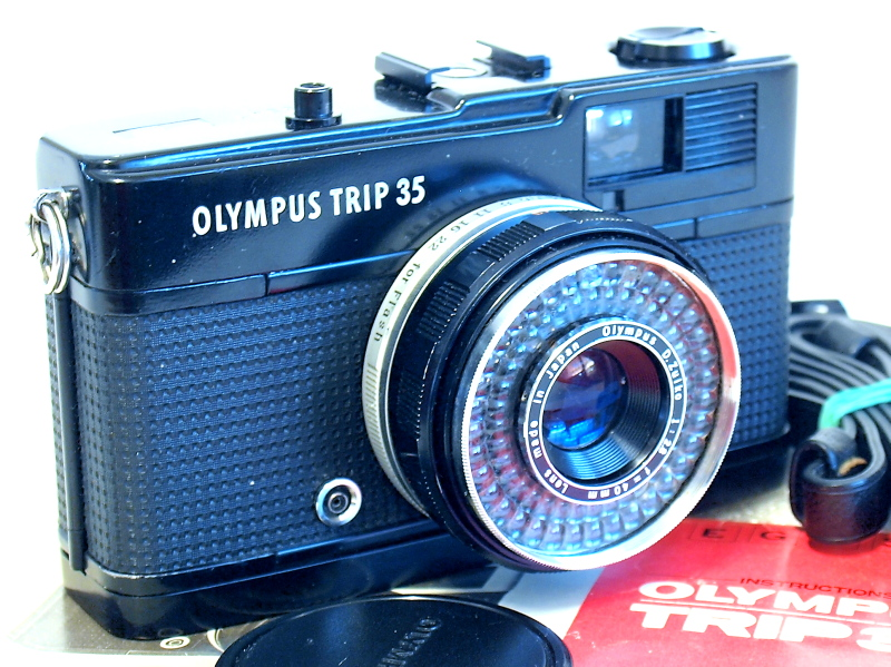 Olympus Trip 35, Battery Not Required