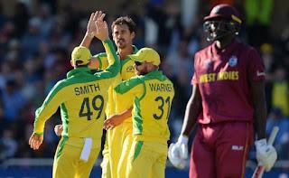 मिशेल स्टार्क ने विंडीज के खिलाफ 5 विकेट चटकाए