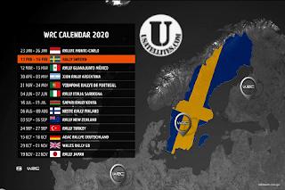 FIA WRC Rally Sweden Biss Key Eutelsat 10A 10.0°E