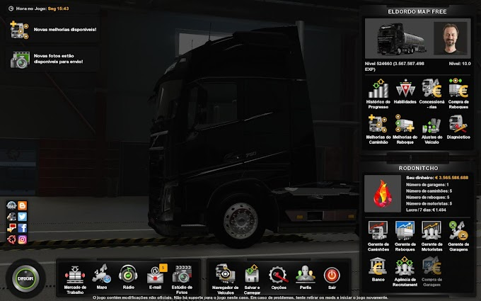 PROFILE MAP ELDORADO FREE 1.37 ETS2