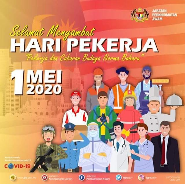 SELAMAT HARI PEKERJA 2020