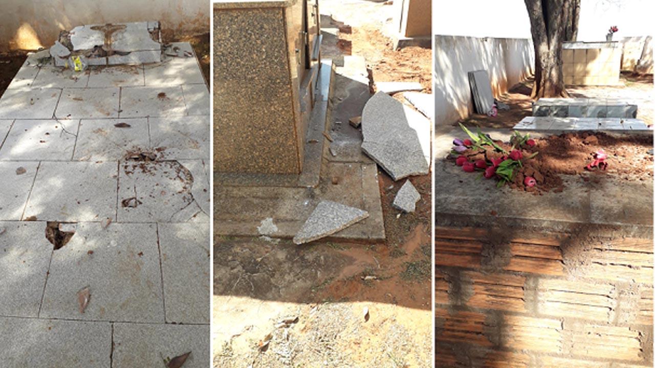 Homem que destruiu o cemitério de Pratânia é capturado pela Polícia