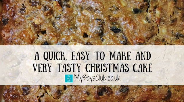 Make a Quick, Easy and Very Tasty Christmas Cake for less than £10