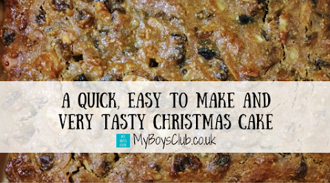 A Quick, Easy to Make and Very Tasty Christmas Cake