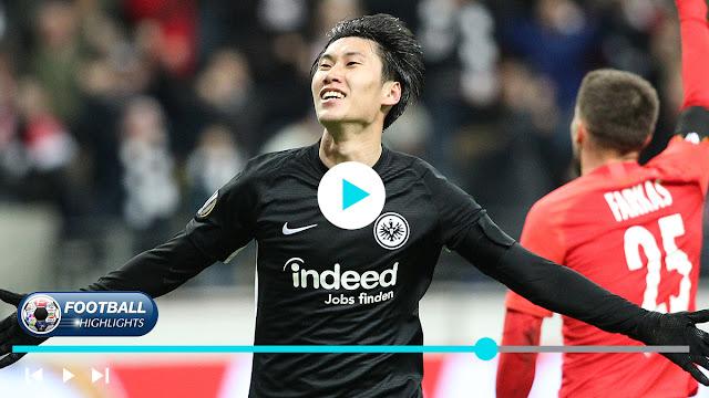 Eintracht Frankfurt vs Salzburg – Highlights