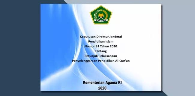 Juklak Penyelenggaraan Pendidikan Al-Quran