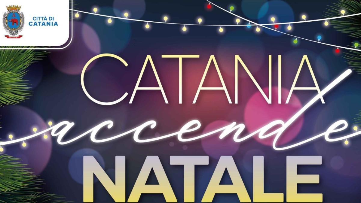 A Catania il Comune installa le luminarie di Natale