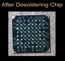 Desoldering BGA Chip
