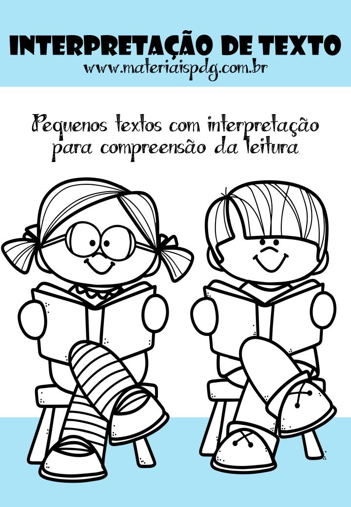 APOSTILA DE INTERPRETAÇÃO DE TEXTO - DOWNLOAD PDF