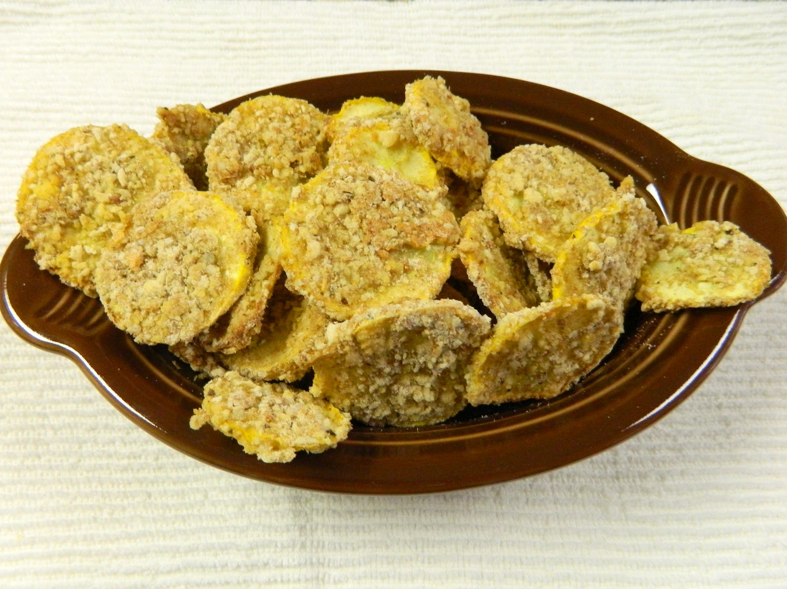 Sugar Spice And Spilled Milk Baked Quot Fried Quot Squash