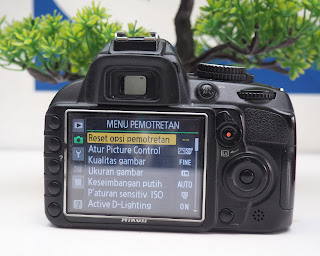 Jual Nikon D3100 Second Body only