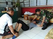 Komandan Koramil 1302-06/Tomohon Bina Calon Prajurit