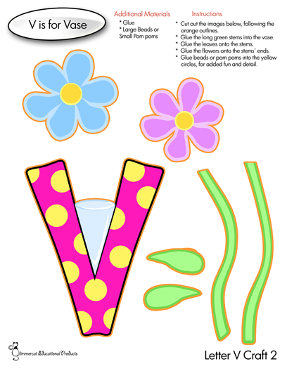 letter v craft glimmercat letter v activities for ages 2 4 2342