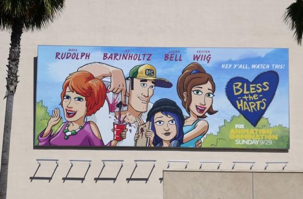 Bless the Harts series premiere billboard