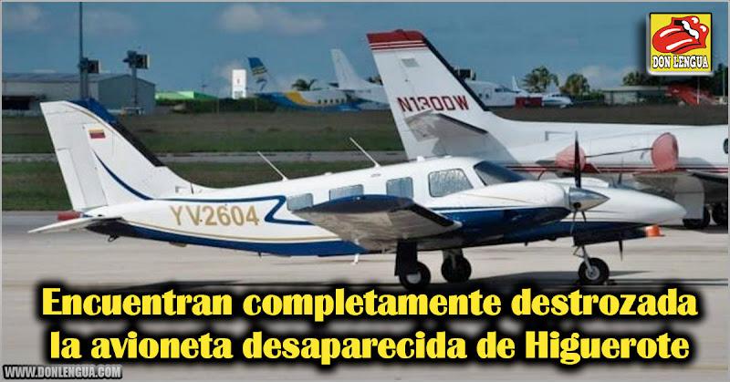 Encuentran completamente destrozada la avioneta desaparecida de Higuerote