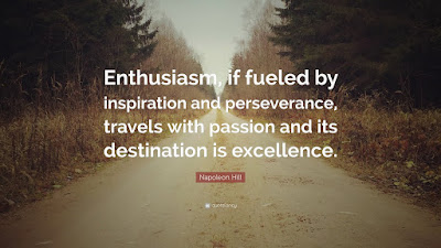 Enthusiasm And Passion Quotes