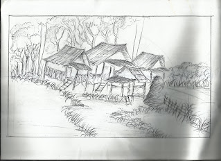 Desa dan Sawah