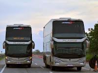 Bus Tingkat Keren Super Mewah dengan Rute Jakarta Wonogiri