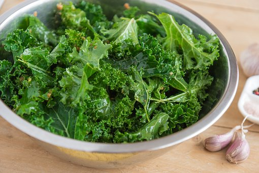 Kale tossed in lemon juice http://www.glutenfreematters.com