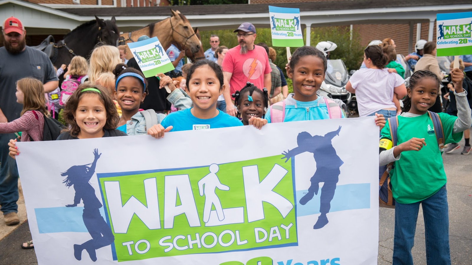 National Walk and Bike to School Day Wishes Pics