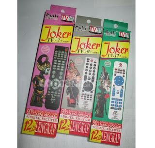 kumpulan Kode Remot Tv Joker Semua merk Tv