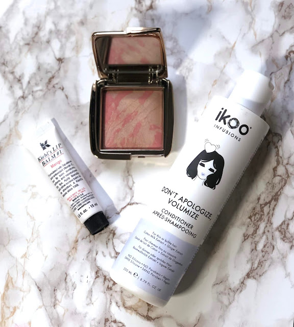 Hourglass Dim Infusion IKOO Volumize Apologize Conditionier Kiehls Lip Balm
