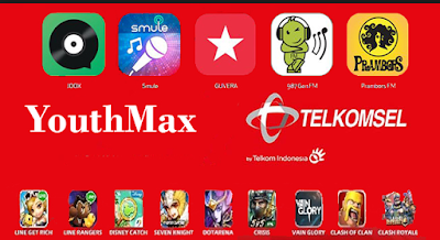 Bug Host Youthmax Telkomsel Desember 2017 100% Work