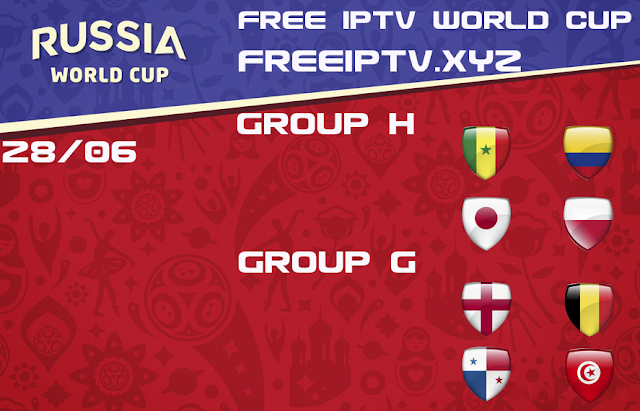 free iptv world cup 2018 channel iptv m3u list 28/06/18