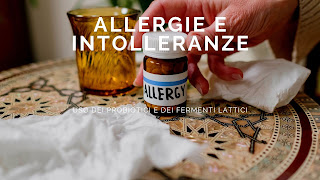 Probiotici per allergie intolleranze