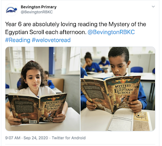 Year 6 Book Reading