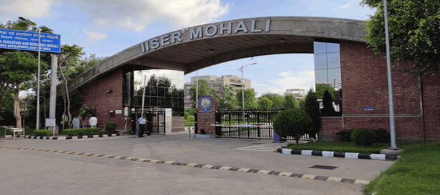 Faculty Positions at Indian Institute of Science Education and Research Mohali