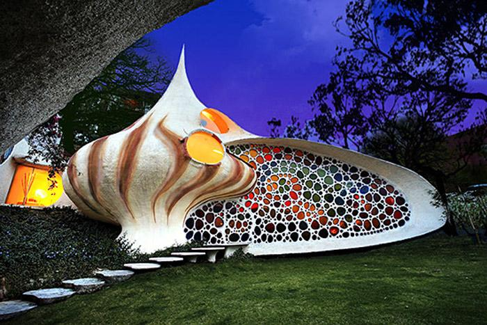 بيت نوتيليوس  Nautilus house