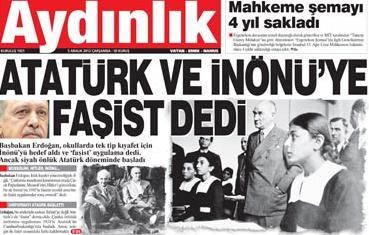 Aliserdarbolat Atatürke Ve Inönüye Faşist Dedi