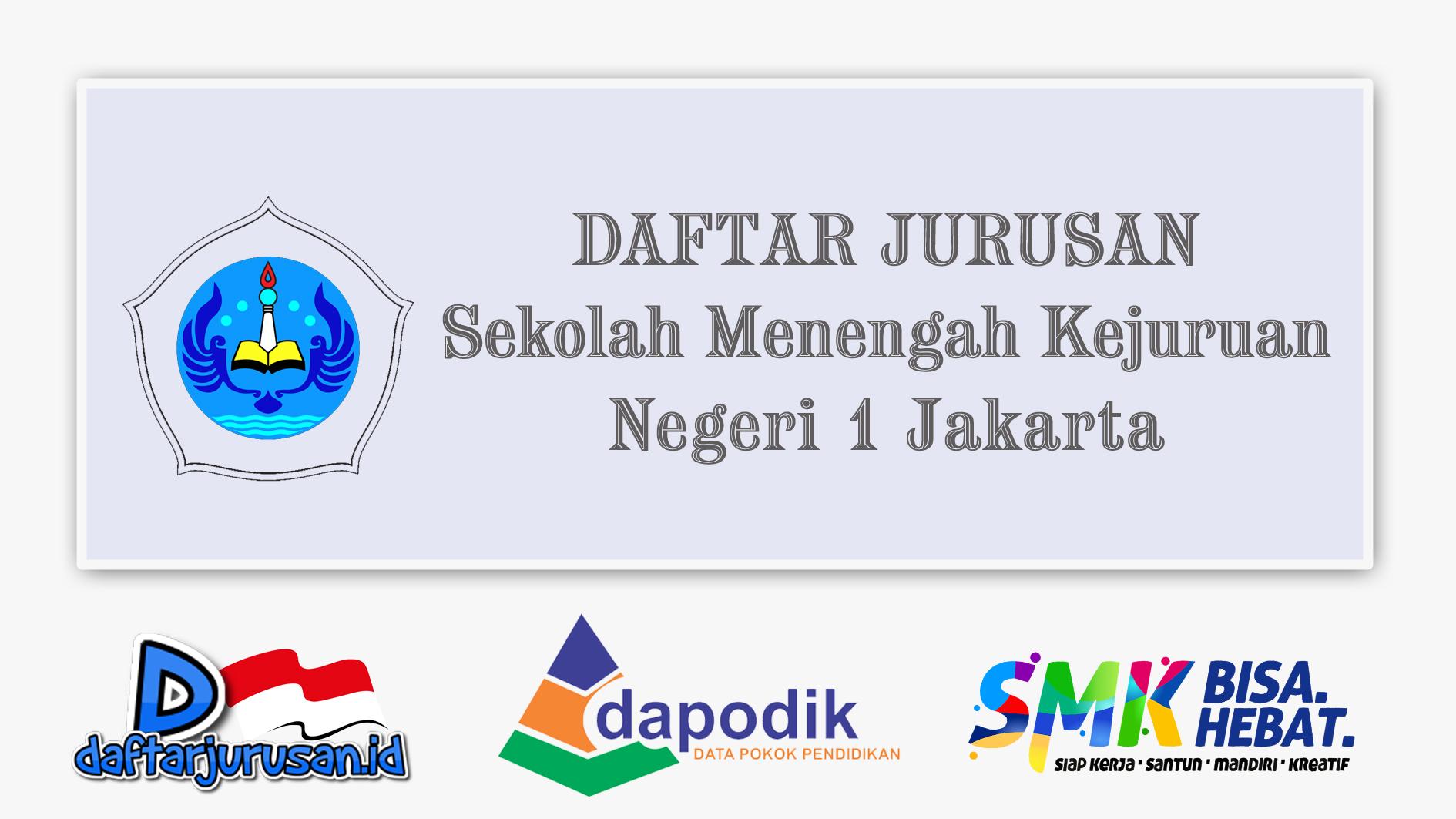 Daftar Jurusan SMK Negeri 1 Jakarta Pusat