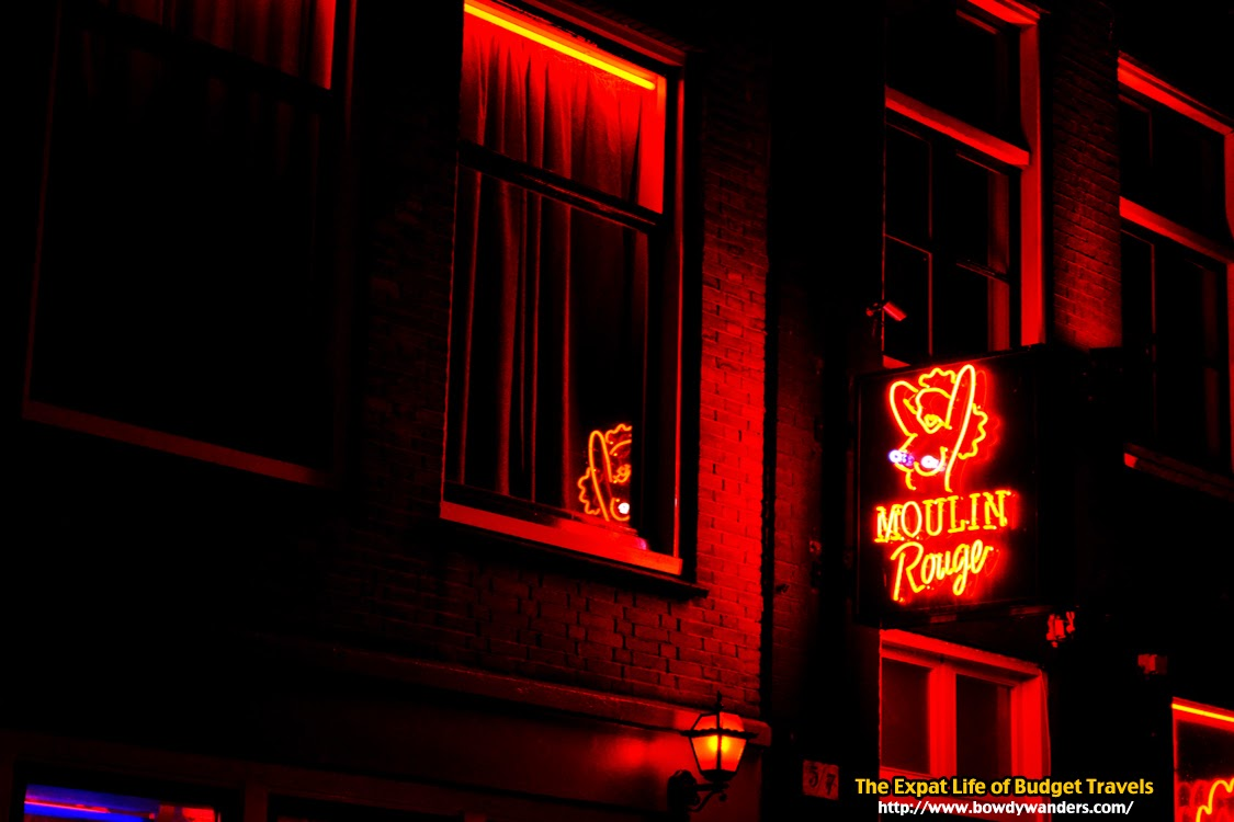 bowdywanders.com Singapore Travel Blog Philippines Photo :: Amsterdam :: Seeing Green in the Red Light District