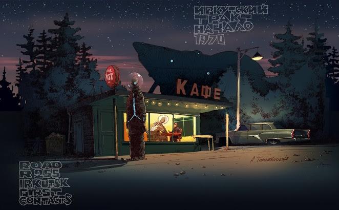 Road R255 Irkutsk First Contact - Andrey Tkachenko