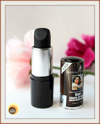 Shahnaz Husain Hair Touch-up Plus Instant (BLACK):  Review & Other details