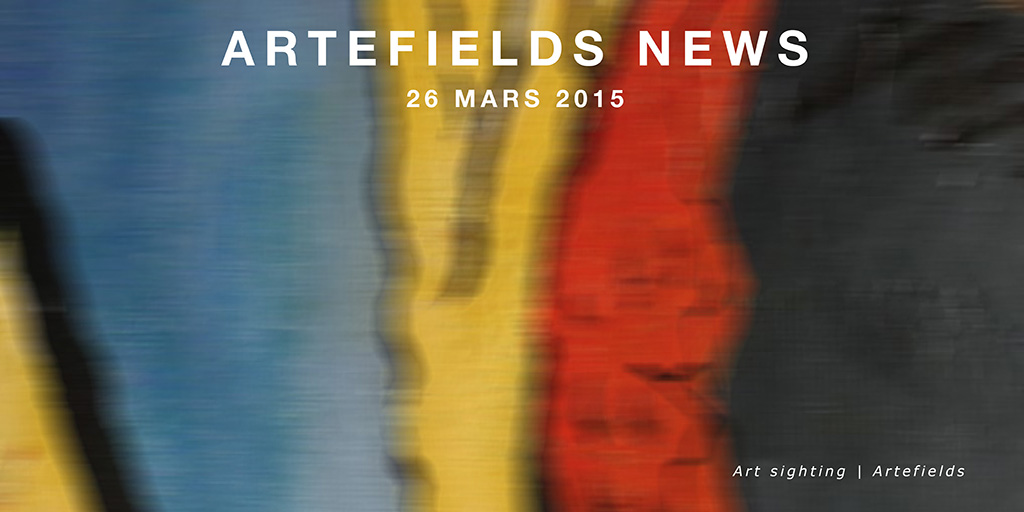 Newsletter Artefields du 26 mars 2015 http://buff.ly/19n9Fcq