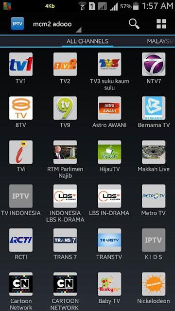 Koleksi Psiphon Terbaru Internet Unlimited: IPTV ( Tengok TV Online