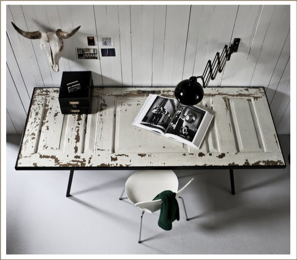Riuso creativo e low cost blog di arredamento e interni for Scrivania low cost